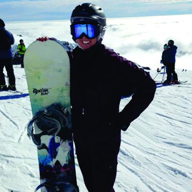 Kira Gurnée Snowboarding