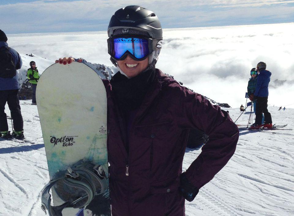 Kira Gurnee Snowboarding